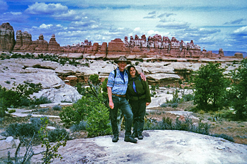 Al and Betty in Canyonlands National Park